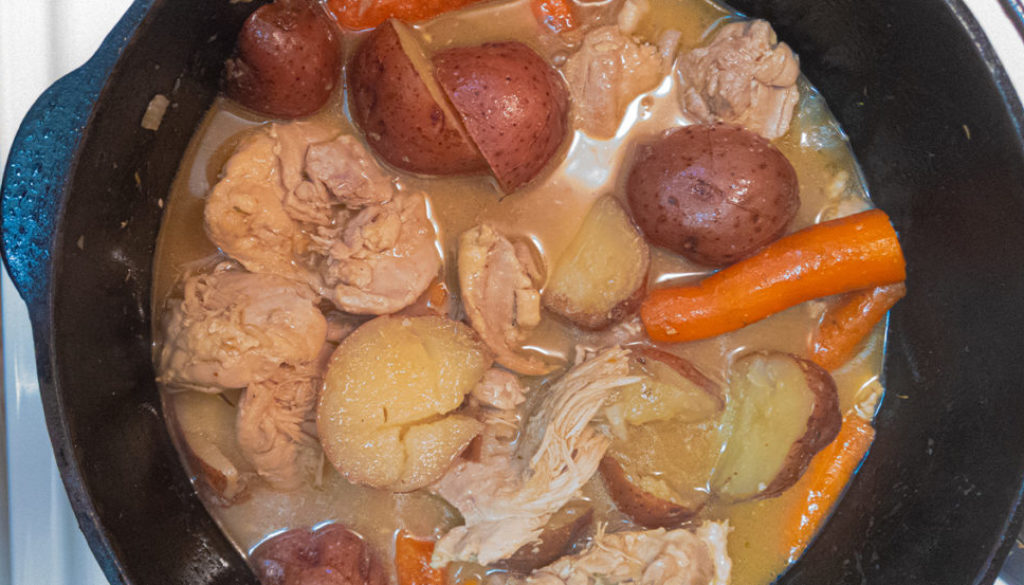 braised chicken thighs dutch oven