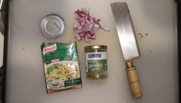 Jarred Pesto vs Powdered Pesto