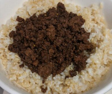 Korean rice bowl recipe