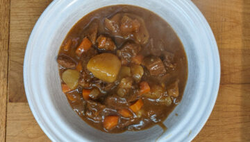 Easy simple instapot beef stew recipe